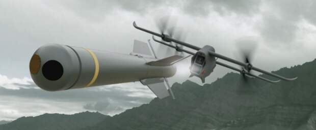 Spectre: дрон-ракетоносец для поддержки пехоты