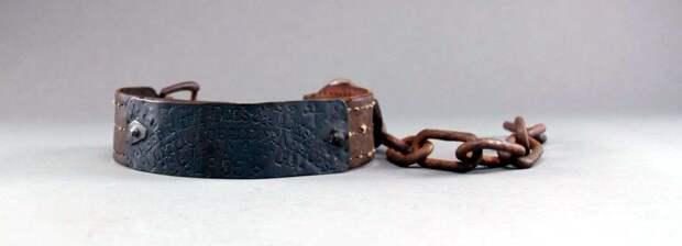 Ошейник североамериканского раба, изготовленный в 1855 году (3)