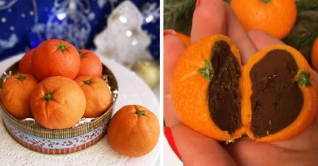 Трюфельные мандарины