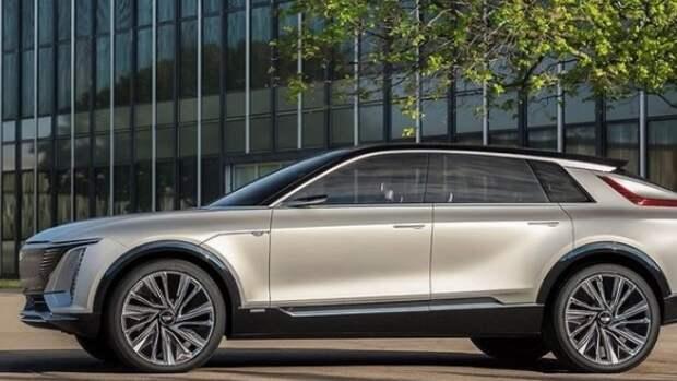Cadillac впервые показал электрокроссовер Lyriq