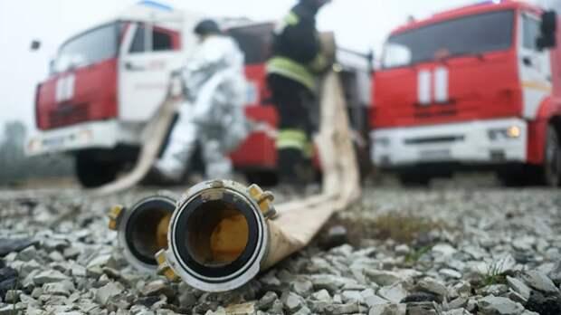 В Ставрополе из-за пожара в доме эвакуировали около 40 человек