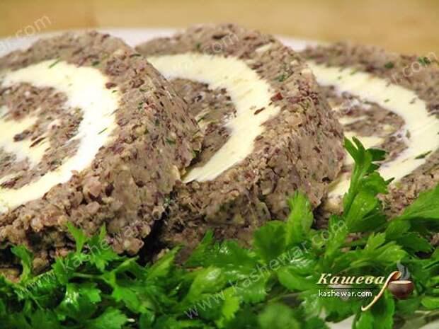 Паштет без мяса по-армянски – рецепт с фото, армянская кухня