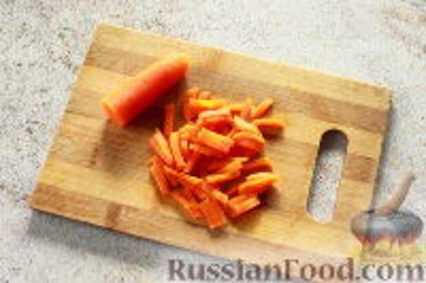 """Фото приготовления рецепта: Салат """"Ласточкино гнездо"""" - шаг №6"""