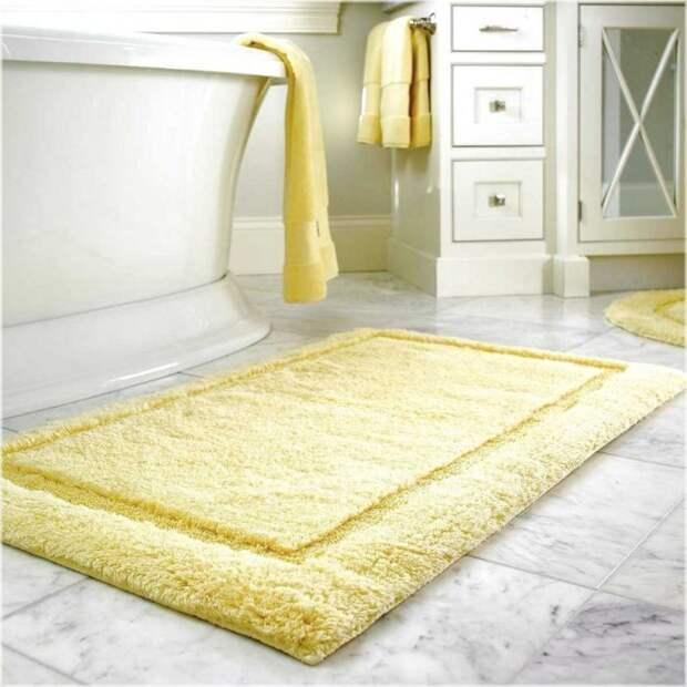 Как выбрать идеальный коврик для ванной