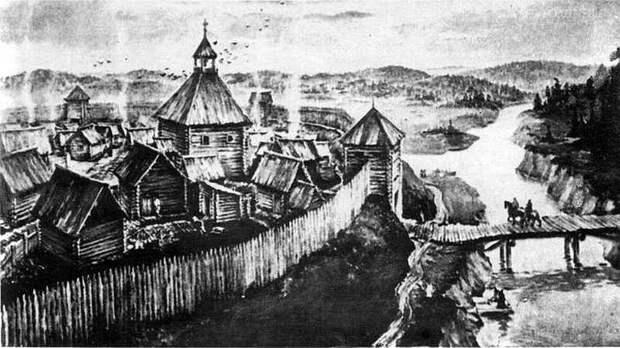 Русские племена в девятом веке. 1. д) север