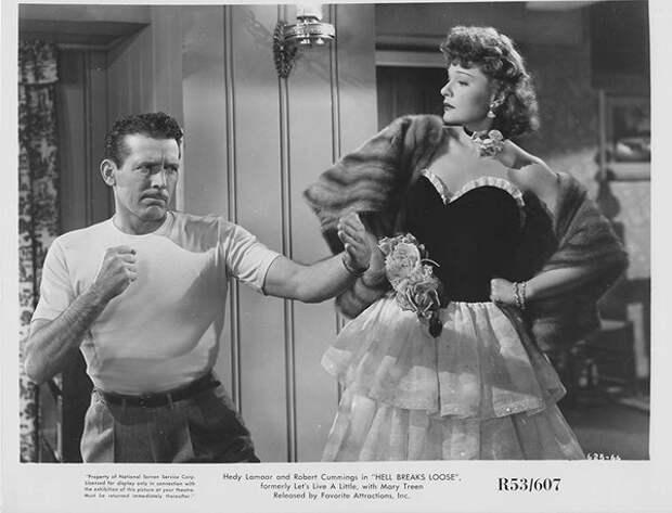 """Фильм """"Давайте немного поживем"""" (1948). Но звезда тут уже не Анна, а Хеди Ламарр. Анна в роли второго плана."""
