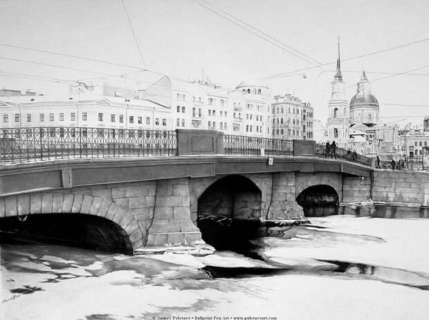 Фотореалистичная живопись шариковой ручкой от Андрея Полетаева - 3