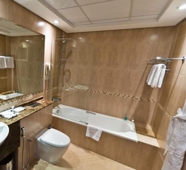 ванная отеля