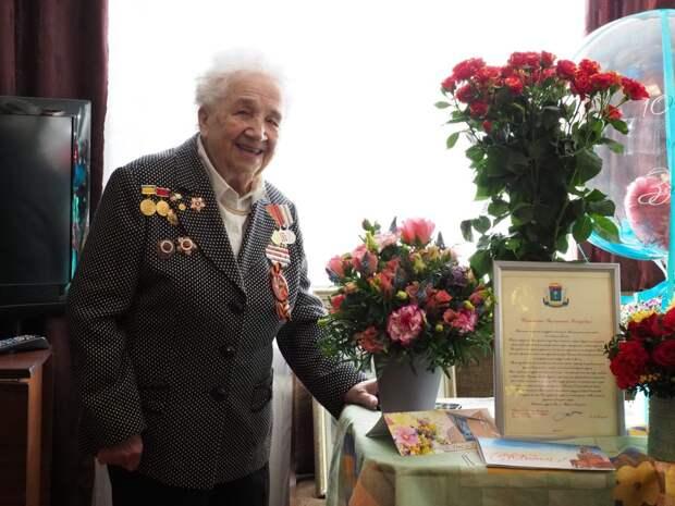 Ветеран трёх войн из Щукина отпраздновала столетие