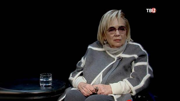 Галина Волчек в последнем выступлении говорила о судьбе театра и упомянула бога