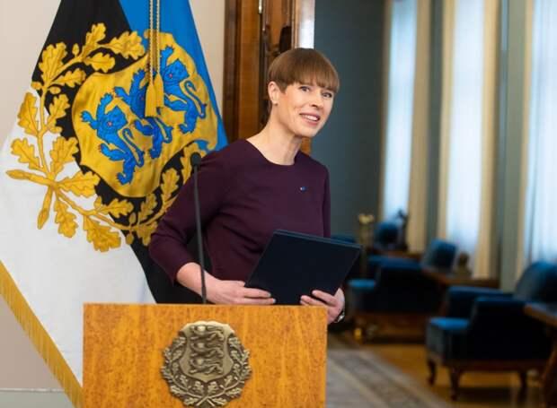 Президент Эстонии вынесла приговор Украине