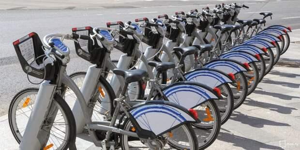 Велопрокат в Левобережном откроется раньше срока и только для курьеров и волонтёров