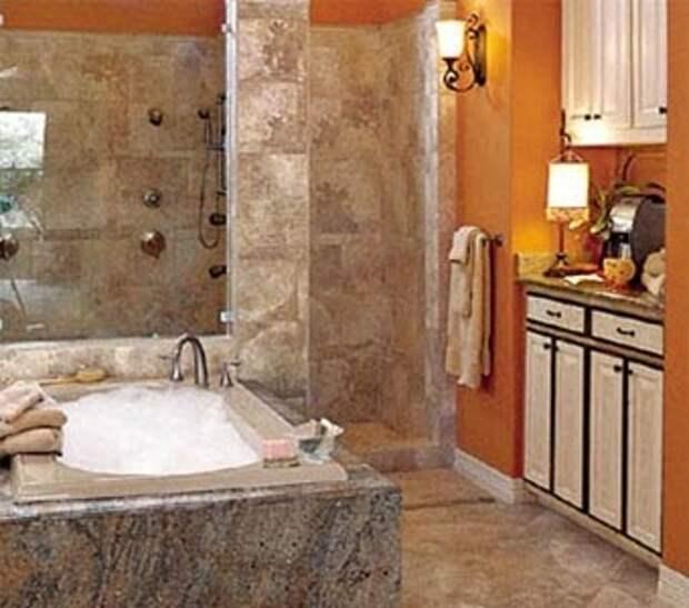 Ограничьте набор материалов для ремонта ванной комнаты