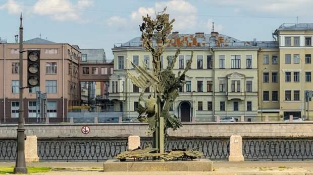Памятник Альфреду Нобелю