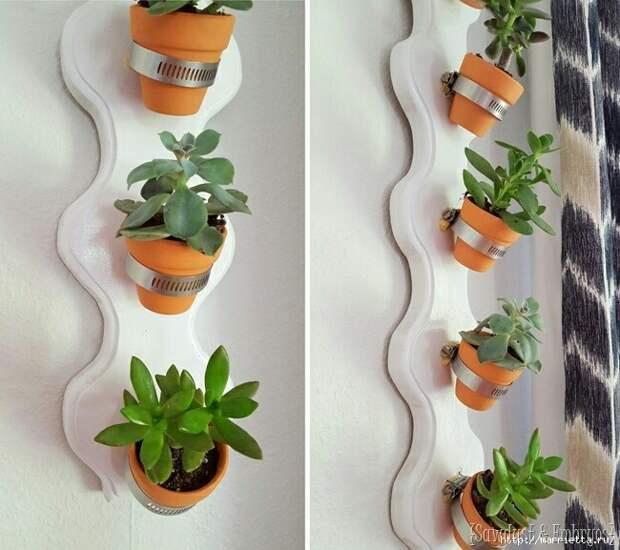 Кашпо на стену (DIY)