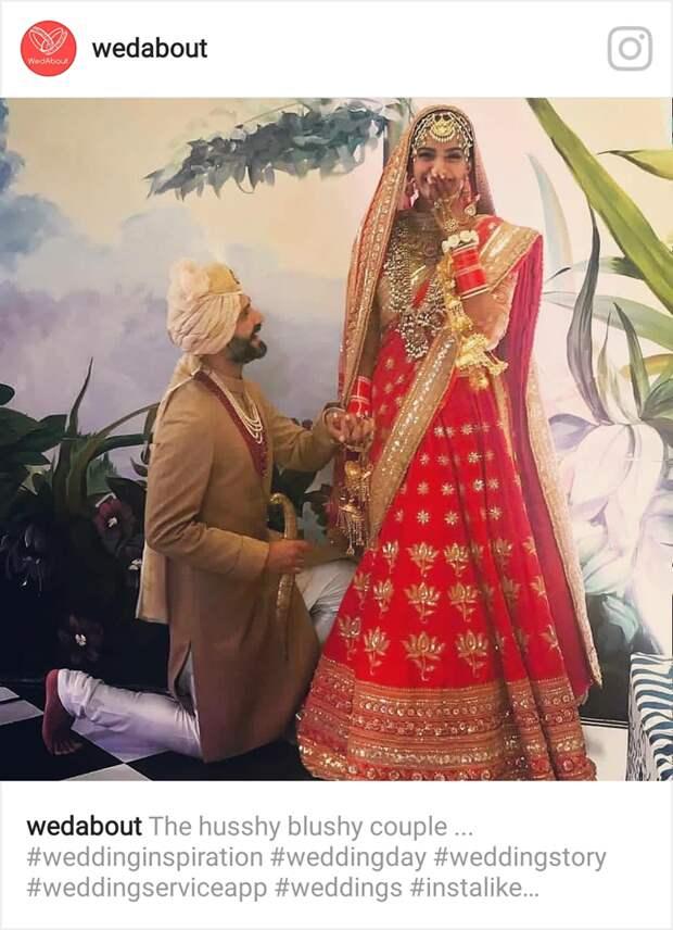 Дочь легенды индийского кино вышла замуж. Посмотрите на сказочную церемонию болливудской принцессы