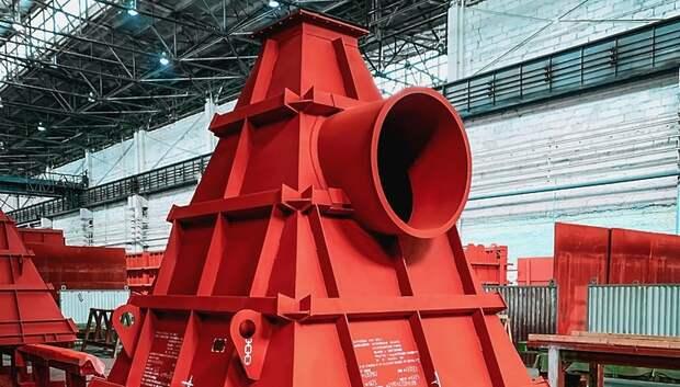 Предприятие «ЗиО‑Подольск» отгрузило бункеры для завода по энергоутилизации отходов