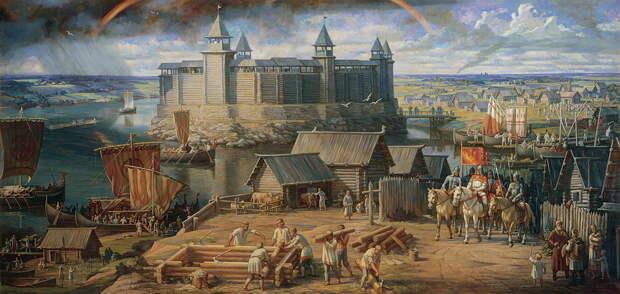 О феодальном дроблении Руси и пяти его центрах