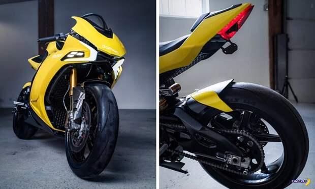 Мотоцикл для электрика