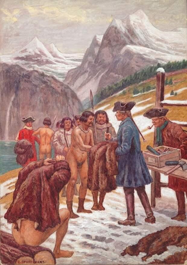 Как русские колонисты сражались против индейцев на Аляске