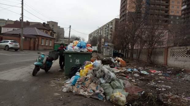 Убрать, нельзя оставить: Логвиненко потребовал очистить центр Ростова отмусорок