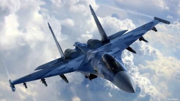 В Минобороны РФ ответили Пентагону о манёвре Су-27 близ самолёта ВВС США