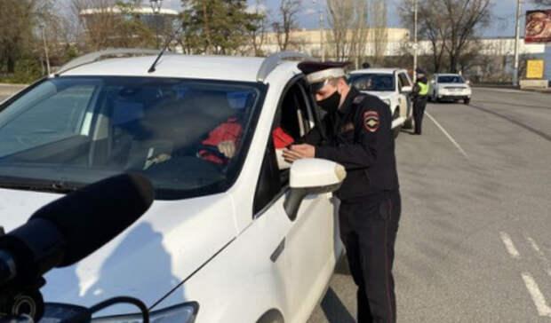 Волгоградские автоинспекторы провели облаву на любителей тонировки