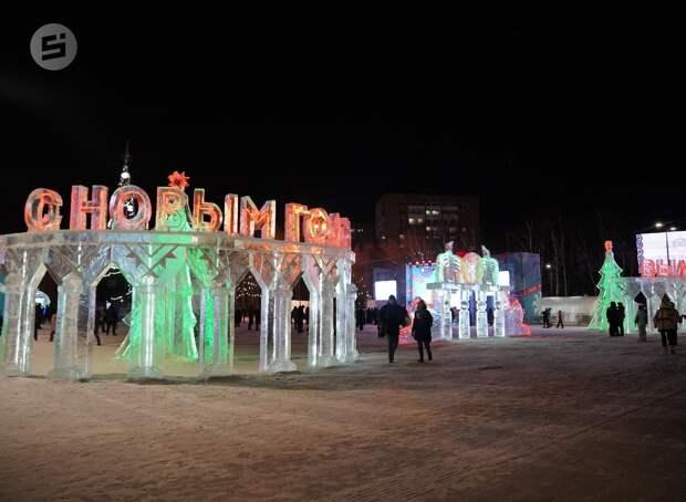 В Ижевске расширят список улиц, которые украсят праздничной иллюминацией в преддверии Нового года