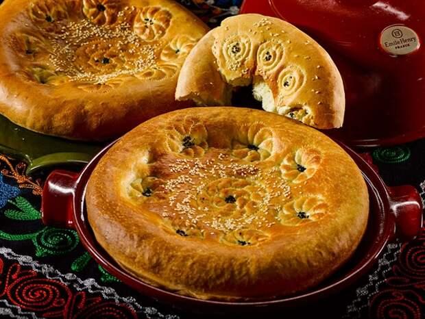 Узбекские лепешки на молоке