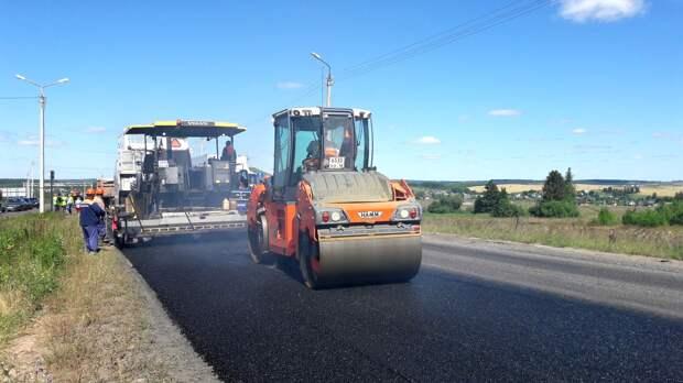 В Удмуртии заключили 70% контрактов на ремонт дорог в 2020 году