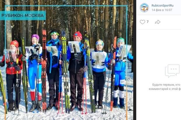 Лыжники из Митина завоевали «серебро» на Первенстве России