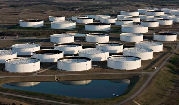На7,5млн баррелей сократились запасы нефти вСША занеделю