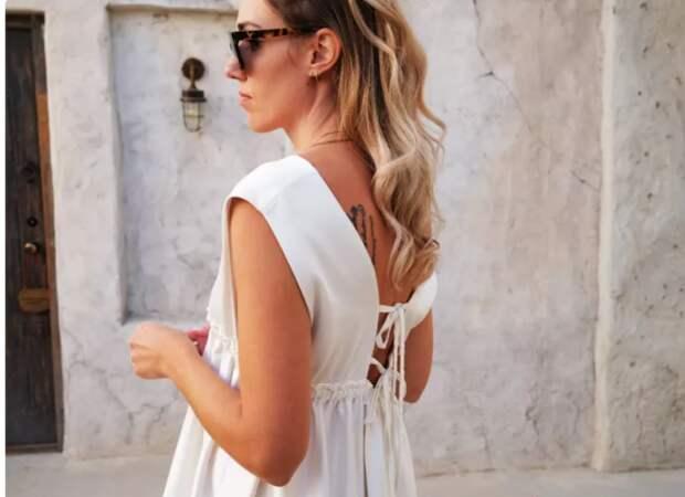 Как сшить красивое летнее платье Diy