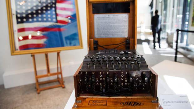 Шифровальная машина «Энигма».   Фото: НТВ.