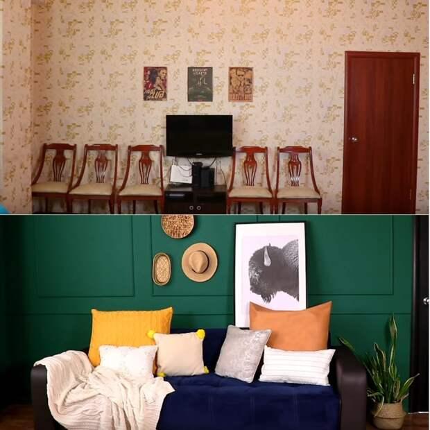 Из бабушкиной в современную и стильную квартиру. Своими руками и без лишних затрат