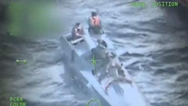 Груз кокаина стоимостью 94 млн долларов перехватили у берегов Колумбии