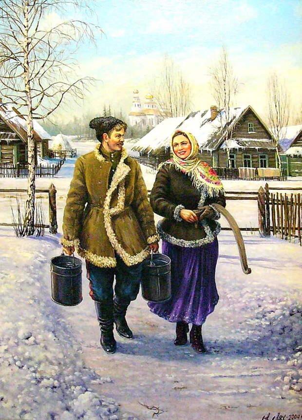 Художник Андрей Петрович Лях.