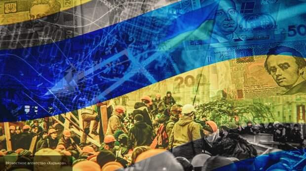 Протест против внешнего контроля Украины