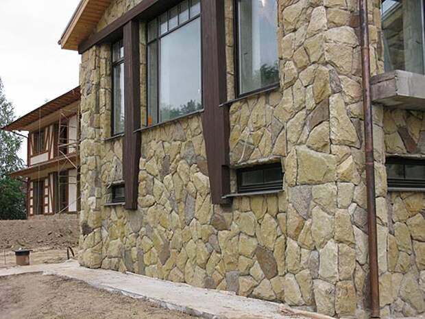 Материалы для наружной отделки фасадов частных домов