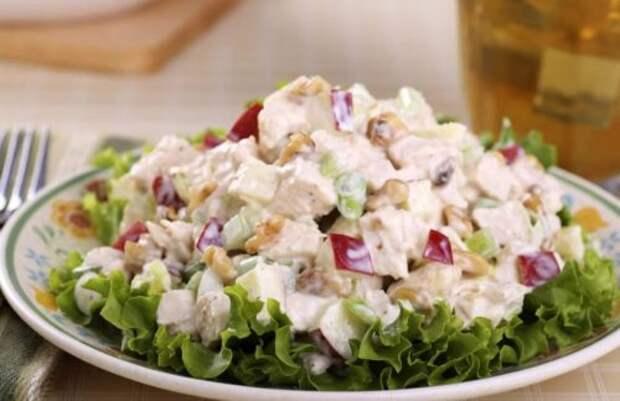 Рецепт интересного салата из простых ингредиентов