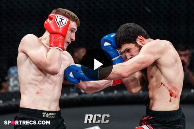 RCC Intro 16 Highlights | Эдуард Фатыков, Россия vs Элкун Оруджев, Россия | Кикбоксинг