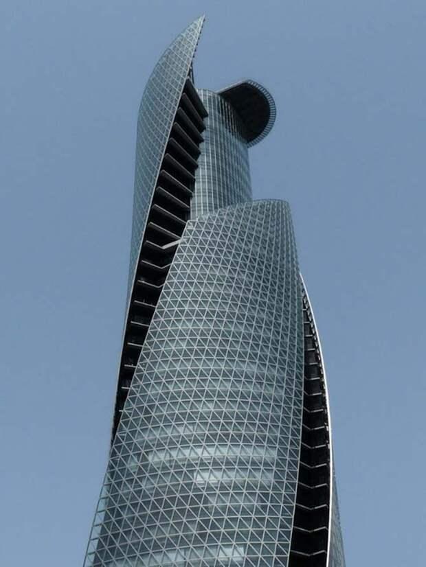 Спиральные небоскребы по всему миру