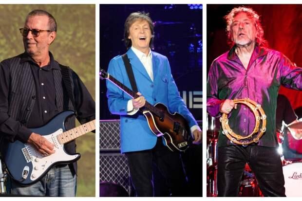 Гитара с автографами Маккартни, Клэптона и Планта выставлена на благотворительный аукцион