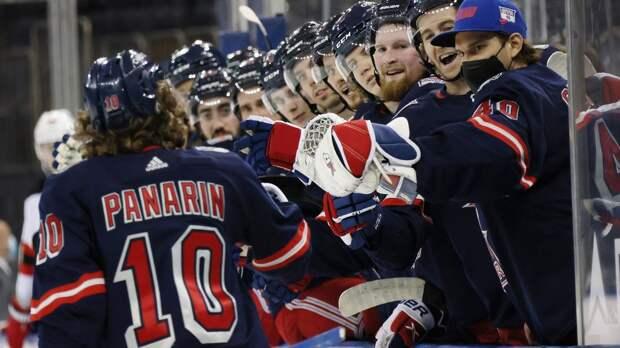 Если бы не скандал, Панарин был бы в тройке бомбардиров НХЛ! Он положил дубль в ворота «Нью-Джерси»