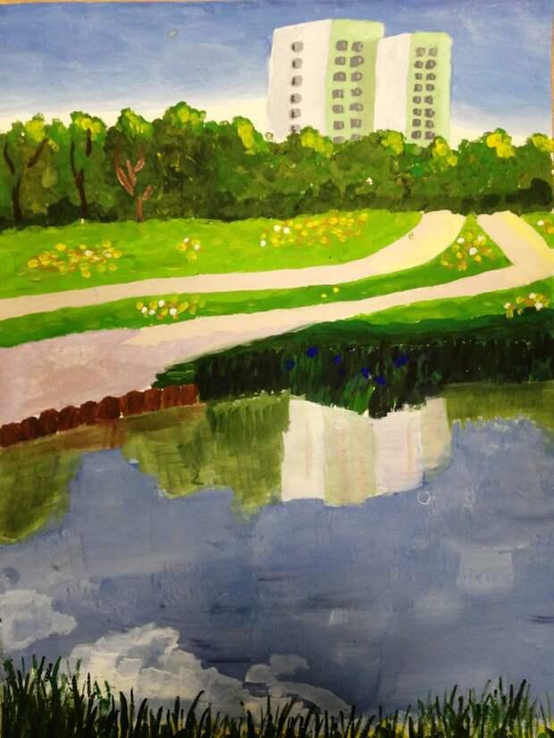 В Алтуфьеве наградили лауреатов городского конкурса рисунков «Наследие моего района»