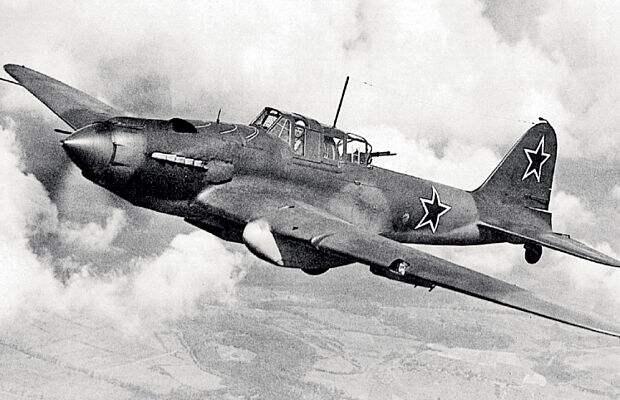 Советский штурмовик Ил-2