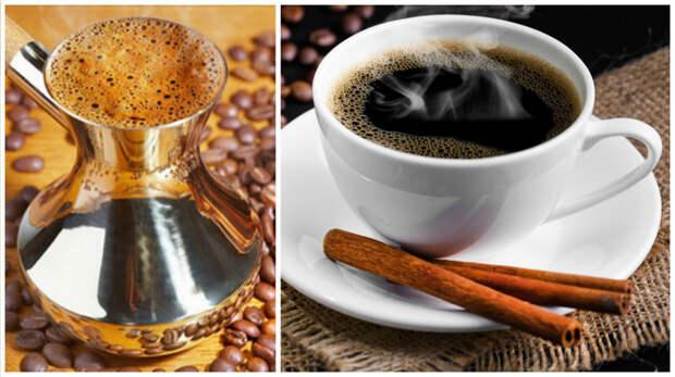3. Кофе будет вкуснее, если перед варкой добавить в него щепотку соли и чуточку корицы кулинария, повар от бога, приготовление еды, секреты, хитрости на кухне.