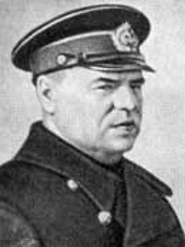 Контр-адмирал Жуков Г.В., командующий Одесским оборонительным районом