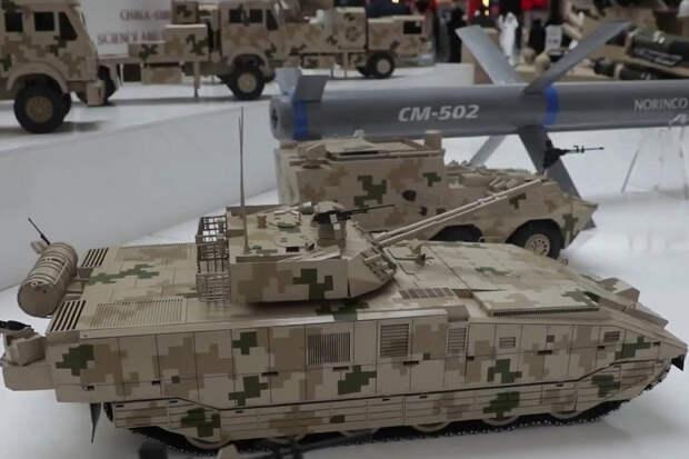 """Китай показал доработанную модель аналога БМП Т-15 """"Армата"""""""
