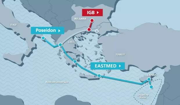 Израиль теснит «Газпром» вЕвропе